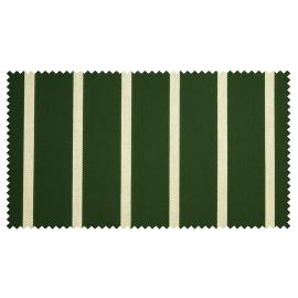 Strandkorb XL Mahagoni Hamburg Streifen grün Bullaugen