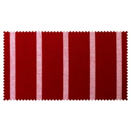 Strandkorb XXL Mahagoni Bullauge Hamburg rot (ACHTUNG: Abbildung abweichend, hier Modell XL-130)