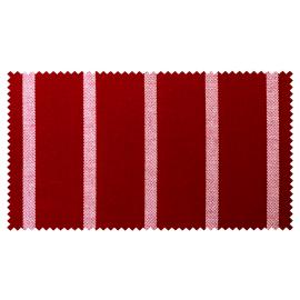 Strandkorb XXL Teak Hamburg Streifen rot (ACHTUNG: Abbildung abweichend, hier Modell XL-130)