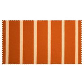 Strandkorb Teak XL Hamburg Bullauge orange (ACHTUNG: Abbildung abweichend, hier Modell XXL-150)