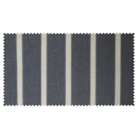 Strandkorb XL Mahagoni Anthrazit Hamburg Streifen grau (ACHTUNG: Abbildung abweichend, hier Modell XXL-150)