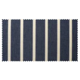 Strandkorb XXL Mahagoni Hamburg blau washed (ACHTUNG: Abbildung abweichend, hier Modell XL-130)