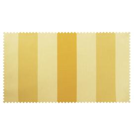 Strandkorb XXL Teak Bremen Streifen gelb beige Bullaugen (ACHTUNG: Abbildung abweichend, hier Modell XL-130)
