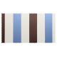 Strandkorb XXL Sanur Streifen blau