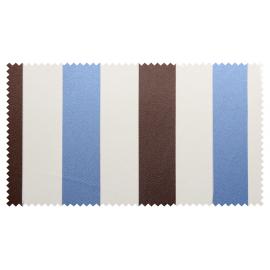 Strandkorb XL Mahagoni Sanur Bullaugen blau (ACHTUNG: Abbildung abweichend, hier Modell XXL-150)
