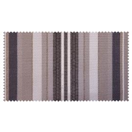 Strandkorb XXL Teak Kiel Multistreifen grau Bullaugen (ACHTUNG: Abbildung abweichend, hier Modell XL-130)