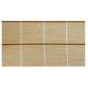 Strandkorb XL Teak Bonn Karo taupe braun (ACHTUNG: Abbildung abweichend, hier Modell XXL-150)