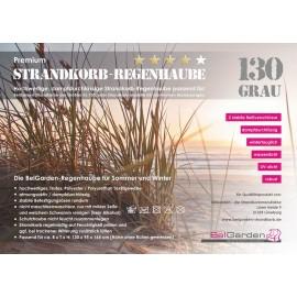 Strandkorbhaube XL-130, 4-Star Premium Qualität, rip-stop (dampfdurchlässig)