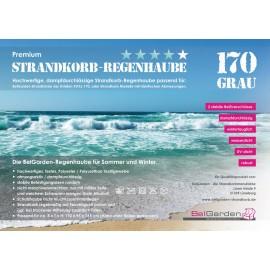Strandkorbhaube XXXL-170, 4-Star Premium Qualität, rip-stop (dampfdurchlässig)