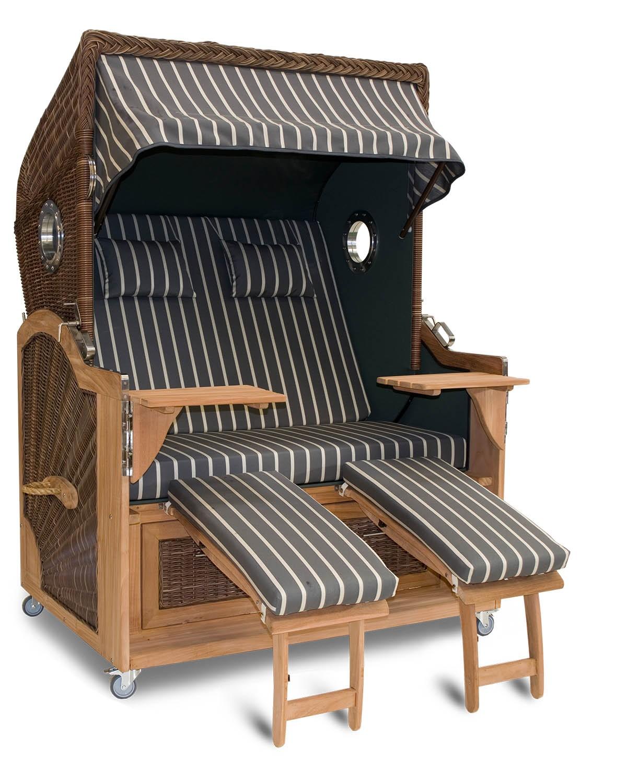 teak strandkorb latribuna. Black Bedroom Furniture Sets. Home Design Ideas