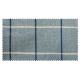 Strandkorb M120 Mahagoni Bonn blau